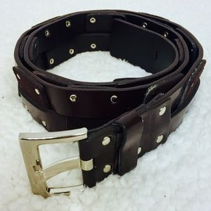 Calvin Klein Vegan Leather Studded Belt